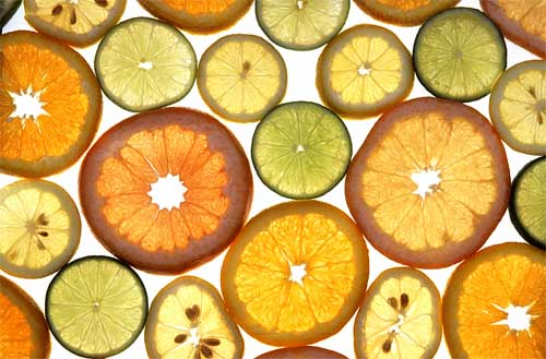 add citrus fruits to your tea